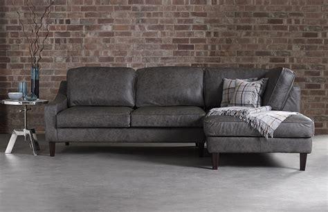 grey leather chaise sofa 3 5 x chaise sofa hilary leather chaise leather sofas