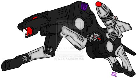 Transformers G Decepticon C Ette Ravage By Aesd On