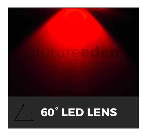 grow led len 15 30 45 60 90 100 176 degree led lens for aquarium par grow light ebay