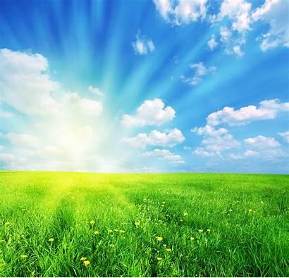 Sunny Spring Landscape Sunshine Michal Bednarek Days