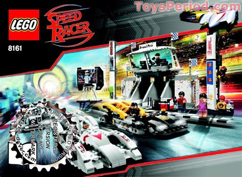 Lego 8161 Grand Prix Set Parts Inventory And Instructions