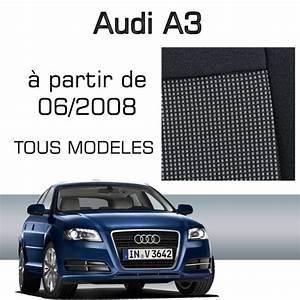 Housse Siege Audi A3 : housse sur mesure audi a3 partir de juin 2008 achat vente housse de si ge housse sur ~ Melissatoandfro.com Idées de Décoration