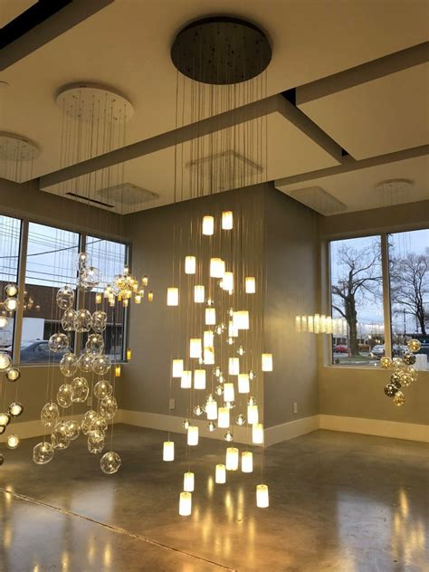 modern bubble chandelier foyer lighting premiere luminaire