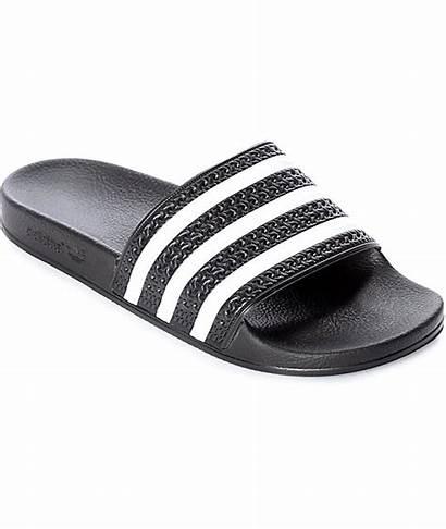 Adidas Slides Adilette Zumiez Sandals Shoes Slide