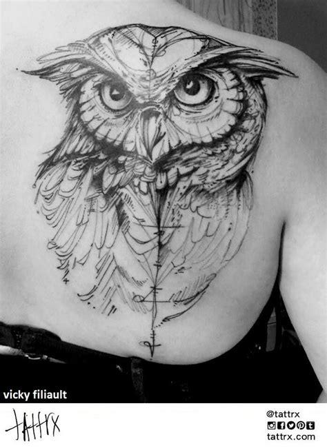 Vicky Filiault Tattoo #ink #tattoo #owl #linework | Tattoos, Tattoo designs, Skin art
