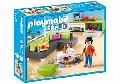 Salon Moderne Playmobil