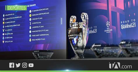 Los duelos de octavos de final de la Champions League