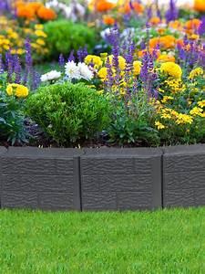 Stomp Block: Edging for Landscape, Lawn & Garden