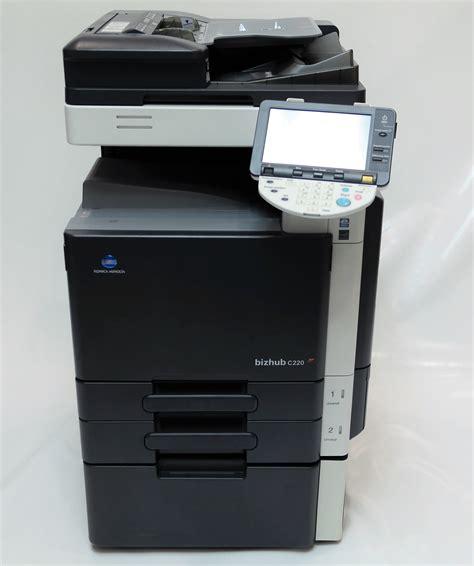 Konica minolta bizhub c220 printer driver, software download for microsoft windows and macintosh. KONICA MINOLTA bizhub C220 | Sofor.cz