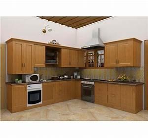 Simple Kitchen Design Hpd453 - Kitchen Design - Al Habib