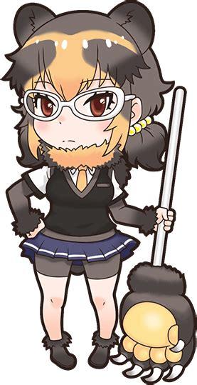 spectacled bearnexon game japari library  kemono