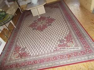 Teppich Handgeknüpft Schurwolle : orient teppich 200 x 300 cm schurwolle rot muster aus nachlass ~ Markanthonyermac.com Haus und Dekorationen