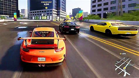 the crew 2 une heure de gameplay de the crew 2 2018