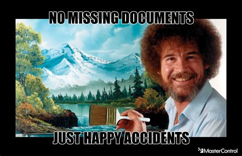 No Missing Documents, Just Happy Accidents