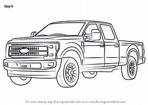 learn how to draw ford f350 trucks step by step With 1955 ford f 250 v6