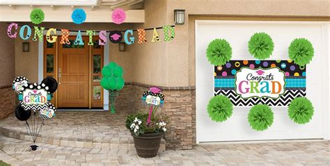 This basketball shaped decoration will be printed in full color with your choice of photos. Outdoor Graduation Decorations   Outdoor graduation party decorations, Graduation party supplies ...