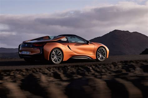 New Bmw I8 Roadster Revealed Alongside Updated I8 Coupe