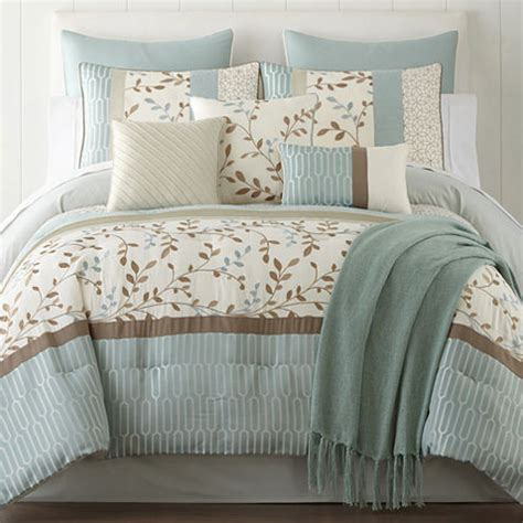 home expressions hton 10 pc comforter set jcpenney