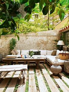 decoration petit jardin terrasse With nice idee amenagement jardin de ville 3 comment amenager un petit jardin idee deco original
