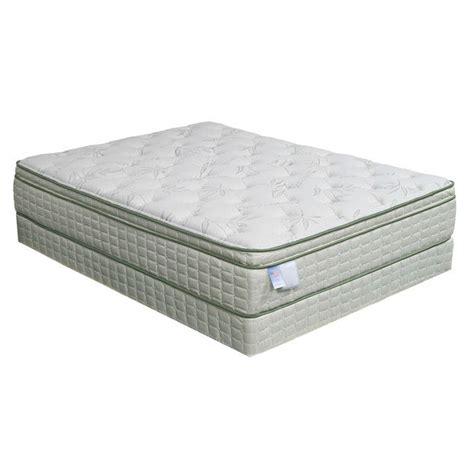 european size mattress eco pedic pillow top premium size mattress set