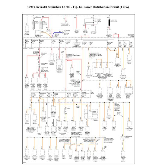 Need Wiring Diagram For Suburban With
