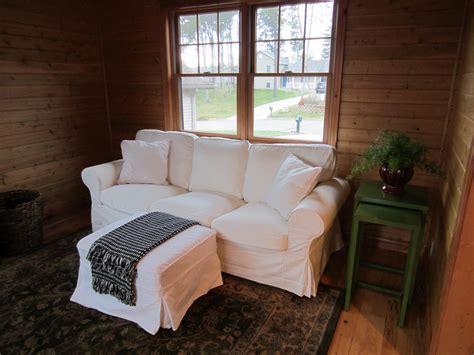 Pottery Barn Grand Sofa Slipcover by Left On Highland Part I Ikea Ektorp Vs Pottery Barn