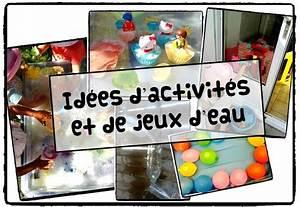 Jeux D Eau Jardin : id es d 39 activit s et de jeux d 39 eau mes humeurs cr atives ~ Melissatoandfro.com Idées de Décoration