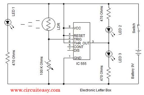 Led Circuit Diagram Letter by Electronic Letter Box Electronic Kits And Simple