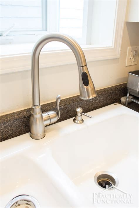 how to install a kitchen sink faucet how to install a kitchen faucet