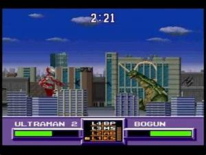 BigAl Plays: Ultraman Towards the Future (SNES) - YouTube