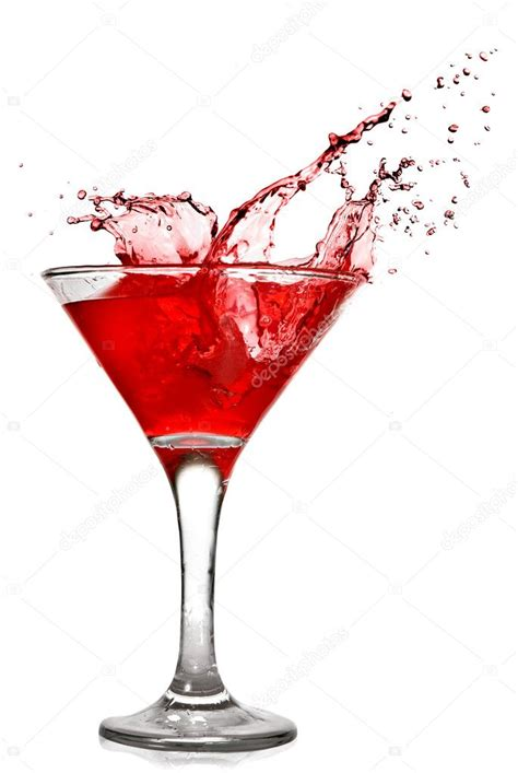 red martini martini cocktail splash www imgkid com the image kid
