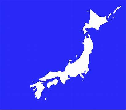 Japan Map Outline Island Japanese Typhoon Lionrock