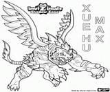 Invizimals Max Hu Xue Colorear La Coloring Tigre El Blanco Es Shadow Zone Dragon Printable sketch template