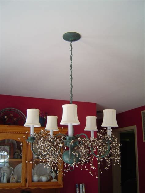 do it yourself antique patina chandelier