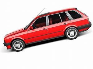 Bmw E30 Touring : bmw 316i e30 touring 3d model max obj 3ds fbx c4d lwo lw lws ~ Melissatoandfro.com Idées de Décoration