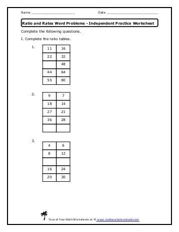 area of rectangles in word problems independent practice