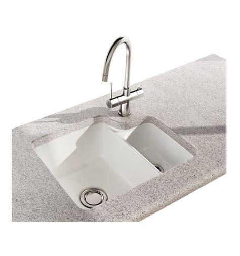 ceramic undermount kitchen sink carron phoenix carlow 150 ceramic undermount bowl half