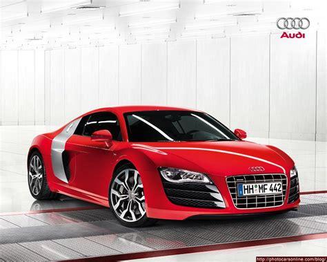 Red Audi Sports Car