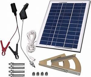 Solar Plug And Play : microsolar 10w solar panel charging kit for 12v battery ~ Whattoseeinmadrid.com Haus und Dekorationen