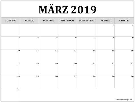 terminkalender marz