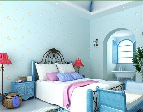 Buy Light Blue Wallpaper For Boys And