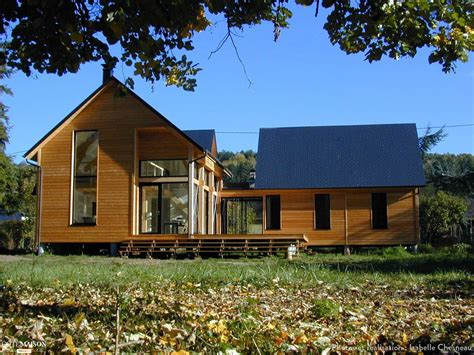maison ossature bois en normandie isabelle chesneau c 244 t 233 maison