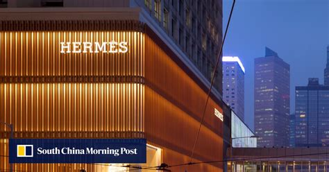 hermes opens biggest hong kong store   luxury market warms  style magazine south