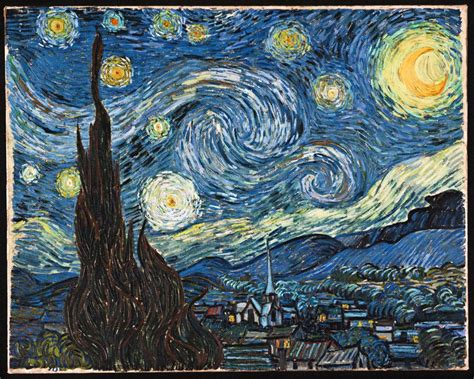 Vincent Van Gogh The Starry Night 1889  Voices From Russia