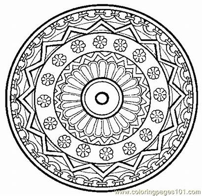 Mandala Coloring Pages Printable Pdf Miscellaneous Coloringpages101