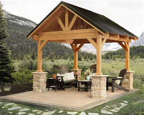 outdoor garden station breckenridge wood pavilion ohio hardwood furniture