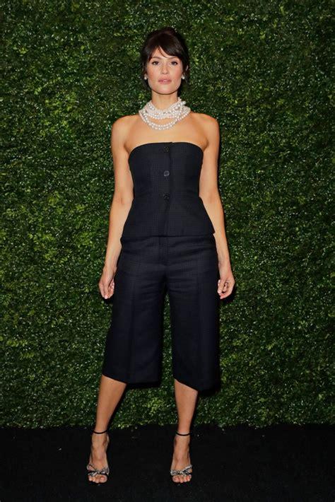 Gemma Arterton – Charles Finch and Chanel Pre-BAFTA Party ...