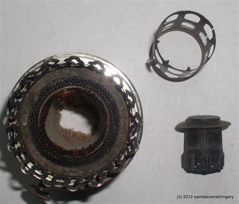 antique rayo center draft oil l burner flame spreader