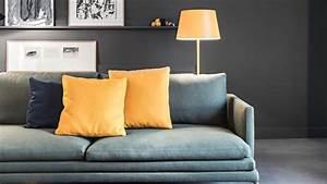 Orange Vert Quel Couleur : mariage des couleurs avec le gris ~ Dallasstarsshop.com Idées de Décoration