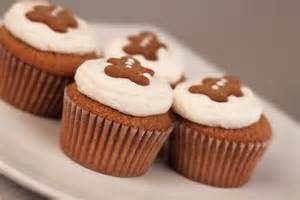Gingerbread Decorated Cupcakes
